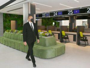 İlham Əliyev Bakıda yeni DOST mərkəzinin açılışında – YENİLƏNİB + FOTO