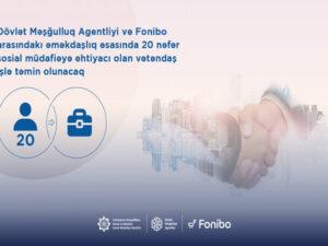 Dövlət Məşğulluq Agentliyi ilə Fonibo MMC arasında əməkdaşlıq haqqında memorandum imzalanıb