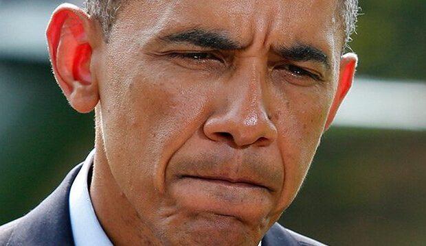 Obamaya AĞIR İTKİ – FOTO