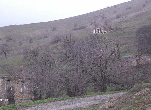 Ermənilərin viran qoyduğu Füzulinin Arış kəndi – VİDEO