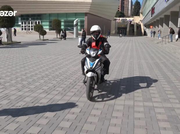 Moped sürənlərin nəzərinə – 100 manat cərimələnə bilərsiniz – VİDEO