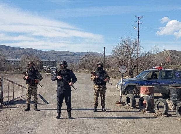 Qubadlıda polis postları – FOTO