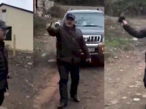 İcra başçısı işğaldan azad olunan kəndinə sərxoş vəziyyətdə gedib? – Video