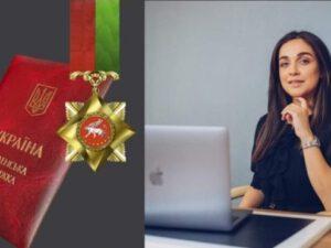 Günay Orucova ordenlə təltif edildi