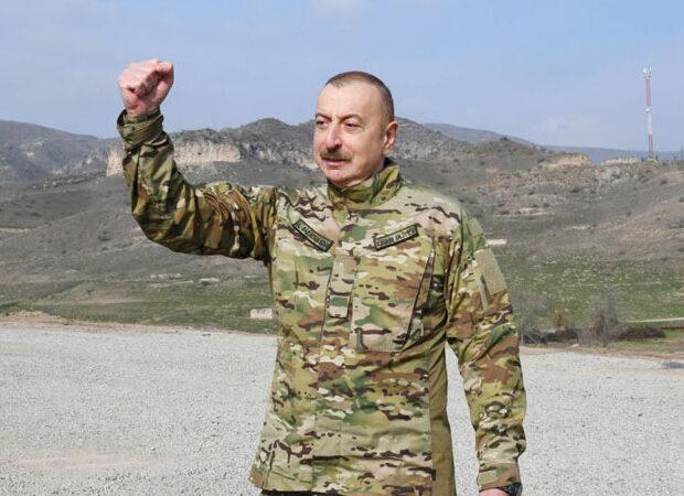 """Ermənistanın dövlət agentliyində İlham Əliyevin """"Qarabağ Azərbaycandır!"""" nitqi yayımlandı"""