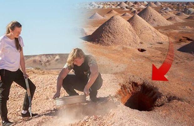 Avstraliya qəsəbəsinin sakinlərinin 60 faizi yerin altında yaşayır – FOTO