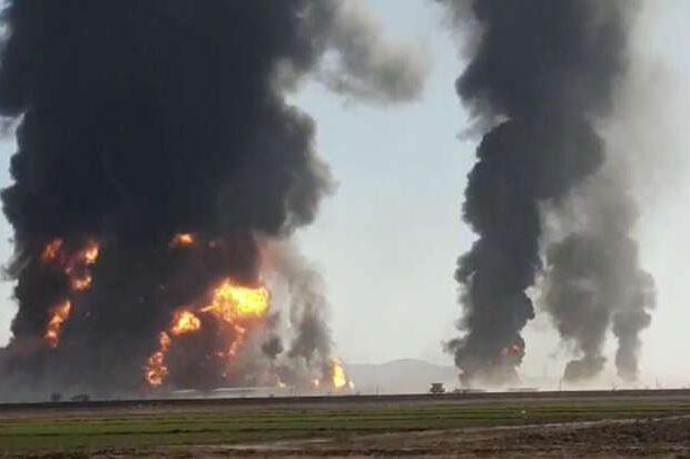 SON DƏQİQƏ: Neft zavodu bombalandı – Şiddətli partlayışlar baş verir