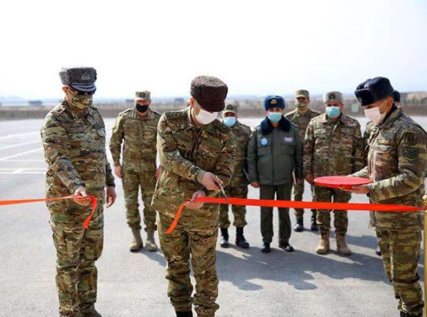 Zakir Həsənov yeni hərbi hissələrin açılışında iştirak edib