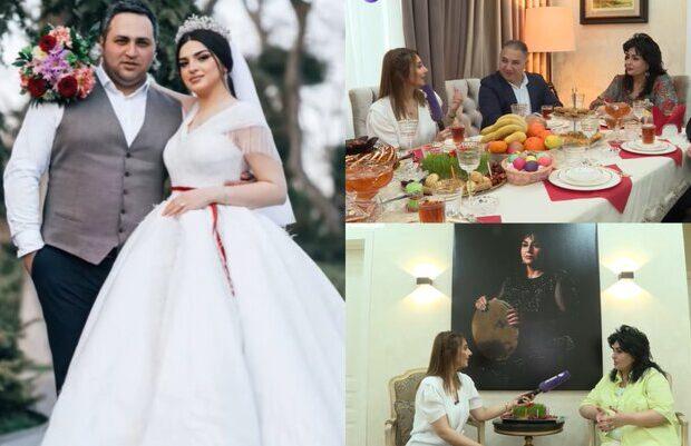 Bu da Əməkdar artistin yeni evlənən oğlunun DƏBDƏBƏLİ EVİ – FOTOLAR