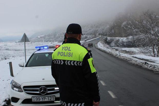 Polis sürücülərə və piyadalara müraciət etdi