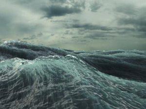 Dənizdə dalğanın hündürlüyü 4,8 mətrə çatıb – Faktiki Hava