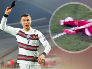 Ronaldonun qolu sayılmadı, baş hakim səhv etdiyini etiraf edib üzr istədi – VİDEO