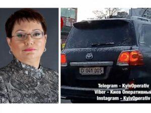 Azərbaycanlı səfirin maşını ilə Ukraynada avtoşluq etdilər – VİDEO