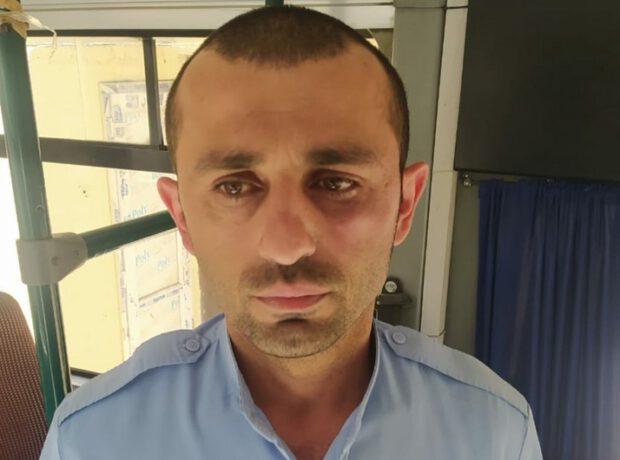 Xırdalanda sərnişin avtobus sürücüsünü döydü – ANBAAN VİDEO