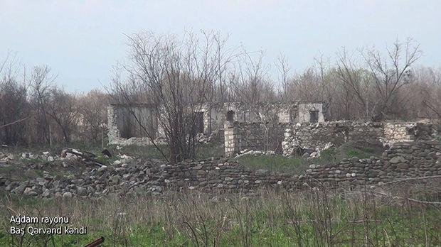 İşğaldan azad edilən Ağdamın daha bir kəndinin görüntüləri – VİDEO