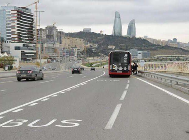 Bakının bütün ərazilərində avtobus zolaqları yaradılacaq