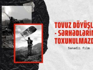 Dünya Gənc Türk Yazarlar Birliyi Tovuz döyüşlərindən sənədli film çəkdi