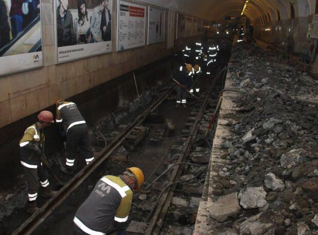 """""""Elmlər Akademiyası"""" metro stansiyasının son görüntüləri"""