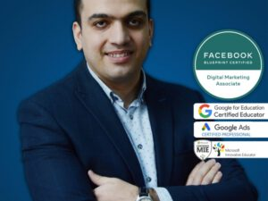 """UNEC-in gənc müəllimi """"Facebook"""" və """"Google"""" akkreditasiyasında uğur qazanıb"""