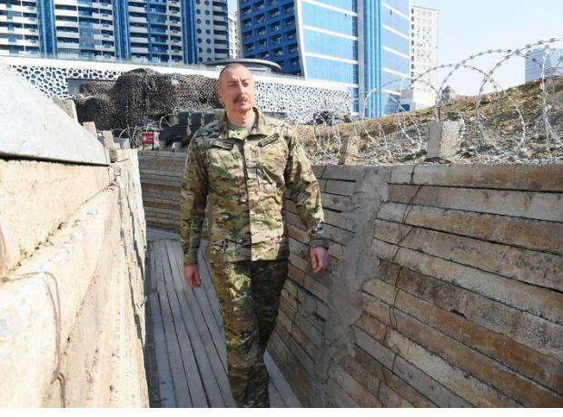 Qalib Ali Baş Komandan Hərbi Qənimətlər Parkında – FOTOREPORTAJ