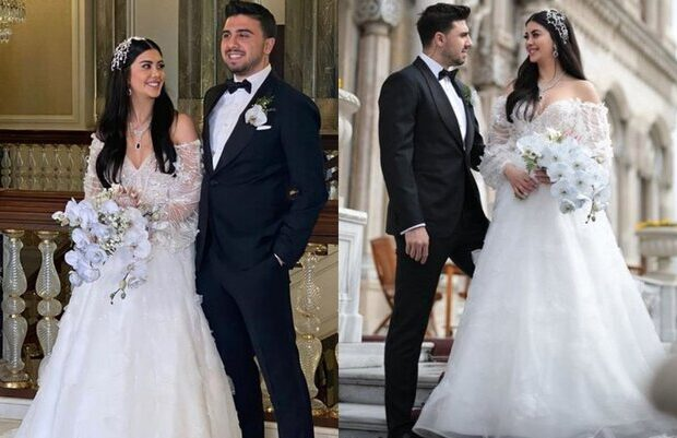 Onlar da evləndilər – Fotolar
