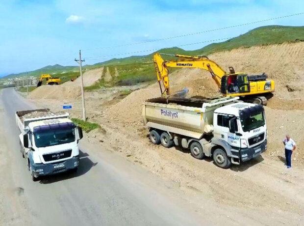 Xudafərin-Qubadlı-Laçın avtomobil yolunun tikintisinə başlanılıb – FOTO