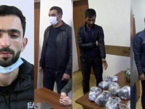 Polis ƏMƏLİYYAT KEÇİRDİ: 68 kiloqram narkotiklə həbs olundular – FOTO