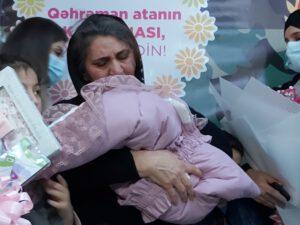 Şəhid Kamran Kazımovun qız övladı dünyaya gəlib – FOTOLAR