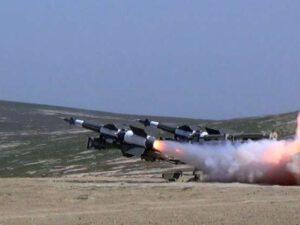 Zenit-Raket Qoşunlarında döyüş atışlı təlimlər keçirilib – VİDEO