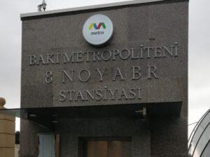 """""""8 Noyabr"""" stansiyasında Xudayarın ifası səslənəcək? – RƏSMİ AÇIQLAMA"""