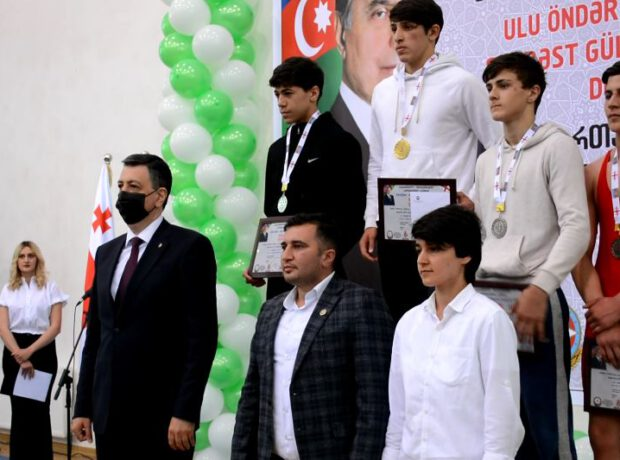 Gürcüstanda Ulu Öndər Heydər Əliyevin 98-ci ildönümünə həsr olunan Şahmat turniri keçirilmişdir
