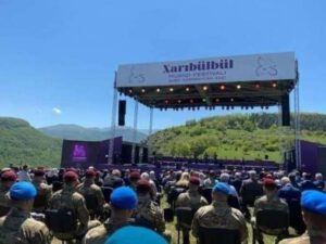 "Şuşada ""Xarıbülbül"" festivalına start verildi"