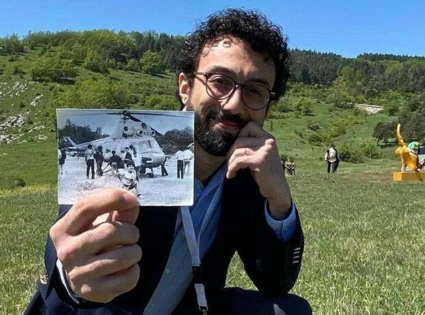 Əməkdar artist 29 il əvvəl helikopterlə tərk etdiyi Şuşaya yenidən qayıtdı