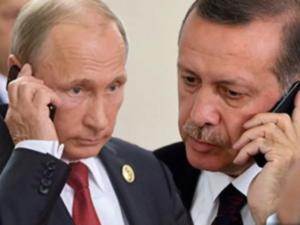 Ərdoğan və Putin Yaxın Şərqdəki son durumu müzakirə etdi