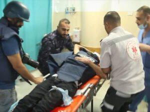 """İsrailin atəşi nəticəsində """"Anadolu"""" agentliyinin iki əməkdaşı yaralandı"""