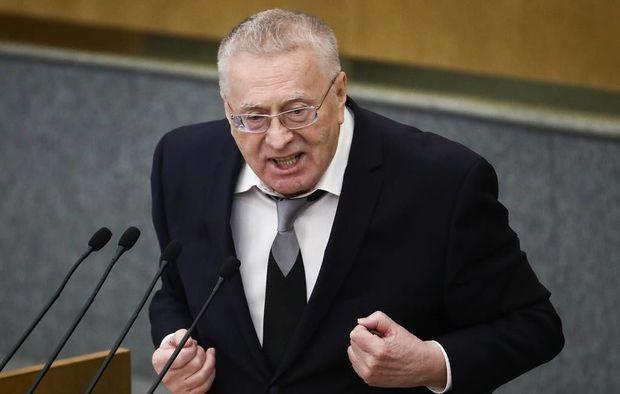 Milli Məclisin iclasında Jirinovski tənqid edildi