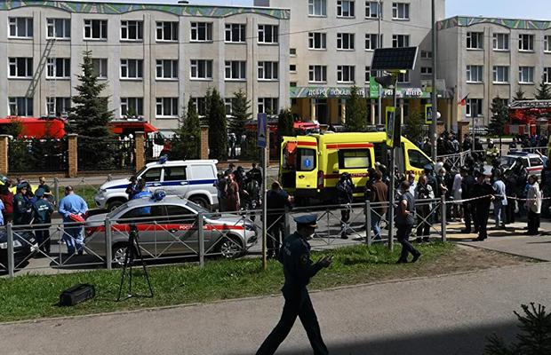 Kazanda 15 məktəb bomba təhlükəsinə görə təxliyyə edildi