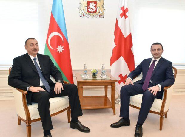 Azərbaycan Prezidenti Gürcüstanın Baş nazirini qəbul edib