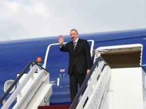 Prezidentin Naxçıvan səfəri başa çatdı
