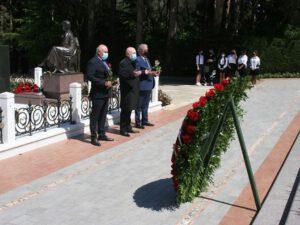 """""""Günay Bank"""" kollektivi Fəxri Xiyabanı ziyarət edib"""
