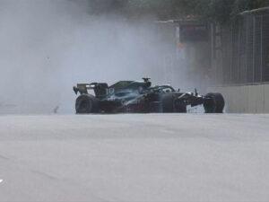 """Formula 1-də təhlükəli qəza: """"Tibbi maşın trassa daxil oldu"""" – FOTO"""