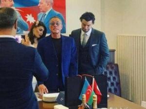 Van Damm oğlunun nikahı üçün Bakıya gəlib – FOTO