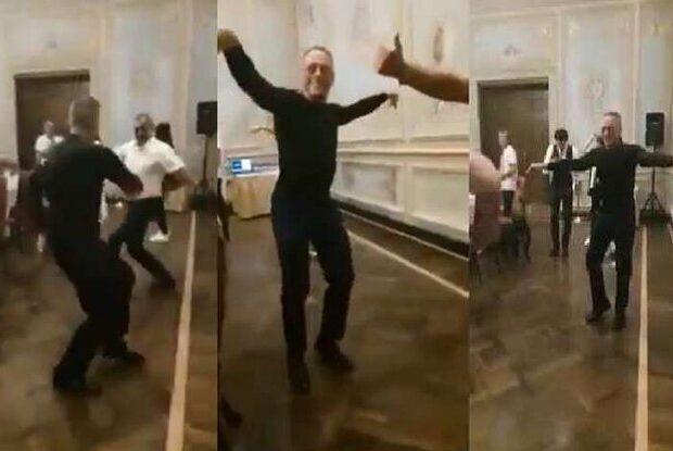 """Van Damm qudası ilə """"Ləzginka"""" oynadı – VİDEO"""