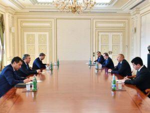 İlham Əliyev Qazaxıstan baş nazirinin müavinini qəbul etdi – YENİLƏNİB