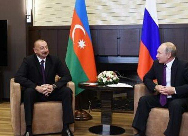 İlham Əliyevin Vladimir Putinlə görüşü başladı – FOTO