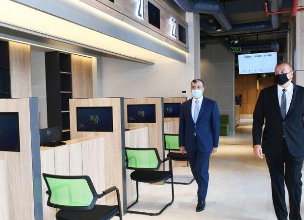 İlham Əliyev Abşeronda DOST Mərkəzinin açılışında – FOTO