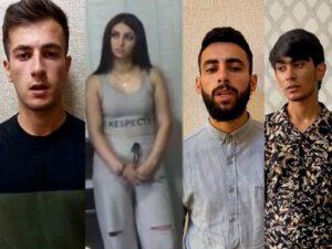 """""""TikTok""""da narkotiki təbliğ edən beş oğlan və bir qız saxlanıldı"""