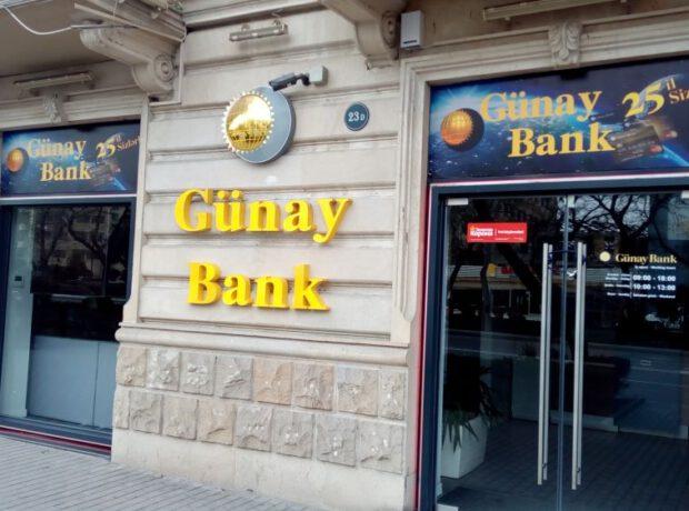 """""""Günay Bank"""" ikinci rüb ərzində zərər edib – FOTO"""