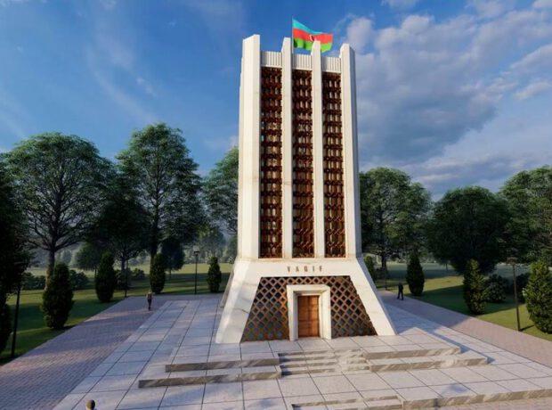 Şuşada dahi Azərbaycan şairi Molla Pənah Vaqifin muzey-məqbərə kompleksinin bərpadan sonra açılışı olub
