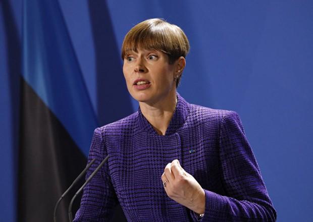 """""""Ukrayna torpaqlarını almadan NATO-ya daxil ola bilməz"""" – Estoniya Prezidenti"""